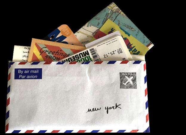 una lettera alla città di new york
